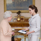 Angelina Jolie, Queen Elizabeth II