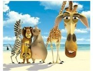 Madagascar Movie Stills: Chris Rock, Ben Stiller, Jada Pinkett-Smith and David Schwimmer
