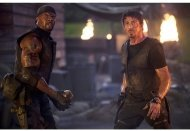 The Expendables: Terry Crews, Sylvester Stallone