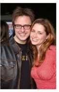 James Gunn and Jenna Fischer