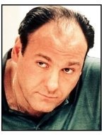 """The Sopranos"" TV Still: James Gandolfini"