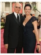 Larry David and his wife Laurie David arrive at the 79th Annual Academy Awards at the Kodak Theatre in Hollywood, CA, on Sunday, February 25, 2007.
