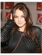 Saturn Rocks Times Square Photos:  Lindsay Lohan