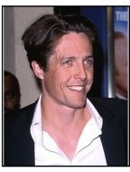 """Hugh Grant at the """"Mickey Blue Eyes"""" Premiere."""