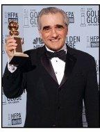 2003 Golden Globe Awards backstage: Martin Scorsese