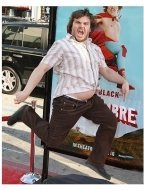 Nacho Libre Premiere Photos:  Jack Black