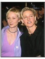 "Anne Heche and Ellen DeGeneres at the ""If These Walls Could Talk 2"" Premiere"