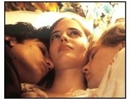 """The Dreamers"" Movie Still: Louis Garrel, Eva Green and Michael Pitt"