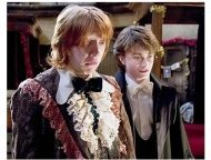 Harry Potter and The Goblet of Fire Movie Stills: Rupert Grint and Daniel Radcliffe