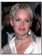 "Sharon Stone at the ""Antz"" Premiere"