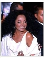 Diana Ross at The Cell premiere