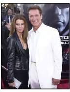 """Arnold Schwarzenegger and Maria Shriver at the """"Terminator 3: Rise of the Machines"""" premiere"""