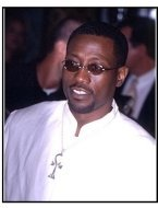 Wesley Snipes at The Art of War premiere