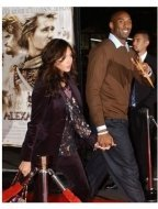 Kobe Bryant at the Alexander Premiere