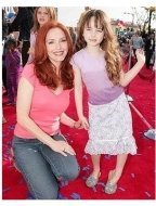 Robots Premiere: Amy Yasbeck and daughter Stella