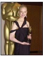Academy Awards 2003 Backstage: Nicole Kidman