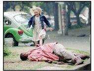 """Man on Fire"" Movie Still: Dakota Fanning and Denzel Washington"