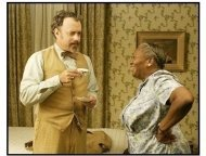 """The Ladykillers"" Movie Still: Tom Hanks and Irma P. Hall"