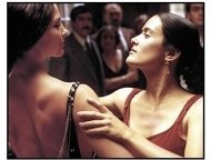"Frida movie still: Ashley Judd and Salma Hayek in ""Frida"""