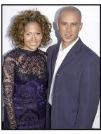 Jennifer Lopez and Cris Judd at the Angel Eyes premiere