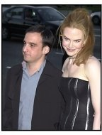 Alejandro Amenabar and Nicole Kidman at The Others premiere