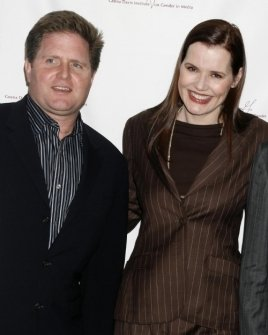 Stephen McPherson and Geena Davis