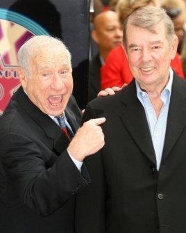 Mel Brooks and Alan Ladd Jr.