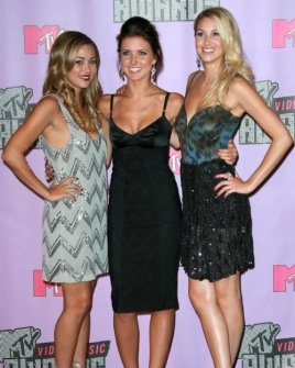 Lauren Conrad with Audrina Patridge and Whitney Port