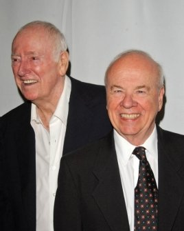 Dick Martin and Tim Conway