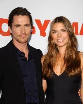 Christian Bale and wife Sibi Blazic
