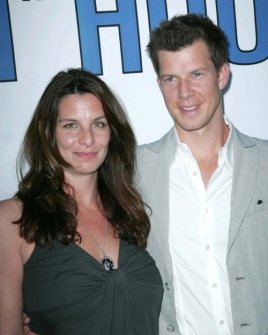 Eric Mabius and wife Ivy