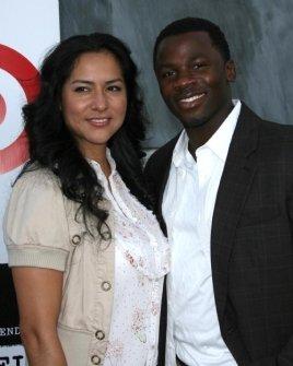 Derek Luke and wife Sophia