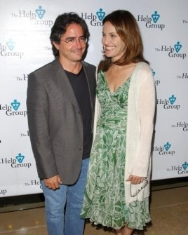 Brad Silberling and Amy Brenneman