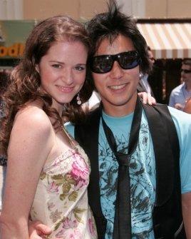 Sarah Drew and Aaron Yoo