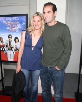 Bridgette Wilson and Pete Sampras