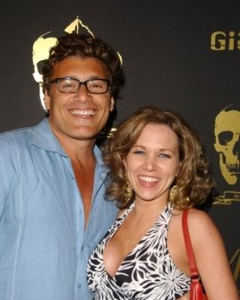 Steven Bauer and Theresa Navarrette