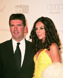 Simon Cowell and Terri Seymour