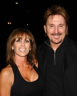 Chuck Negron and friend