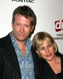Thomas Jane and Patricia Arquette