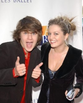 Devon Werkheiser and Lauren Storm