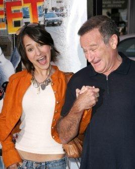 Zelda Williams and Robin Williams