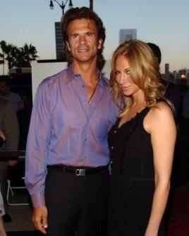 Lorenzo Lamas and Deborah Gibson