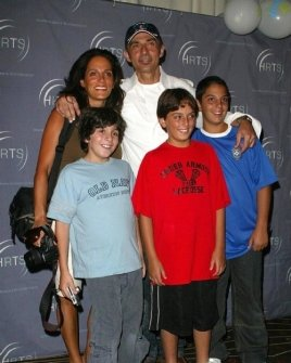 Shaun Toub and family