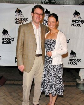 Robert Sean Leonard and friend