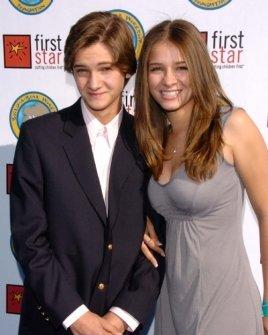 Hunter Gomez and sister Ashley