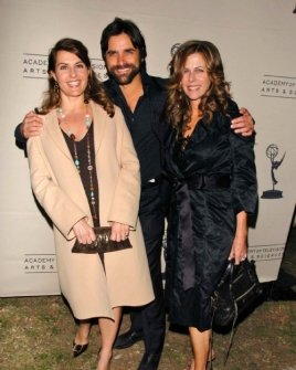 Nia Vardalos with John Stamos and Rita Wilson