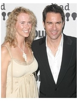 17th GLAAD Awards Photos:  Eric McCormack and wife