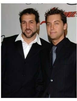 Joey Fatone and Lance Bassat the Night of 100 Stars Oscar