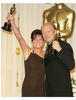 78th Annual Academy Awards Press Room Photos: Cathy Schulman and Paul Haggis