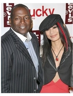 Levis Jeans Event Photos: Randy Jackson and Bai Ling